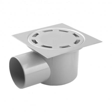Рогов сифон PVC с клапа Ø50мм