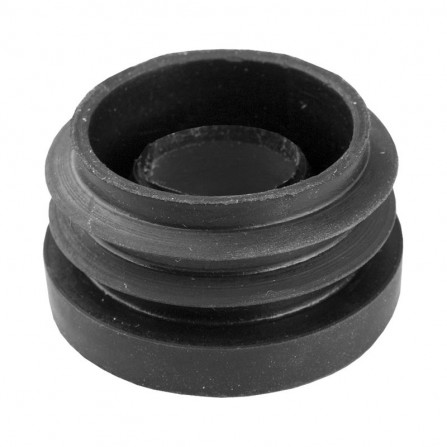 Маншон Ø50мм комбиниран - черен каучук