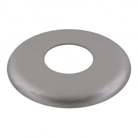 Розетка хром 1/2 малка периферия 1,2мм - Ø 53мм