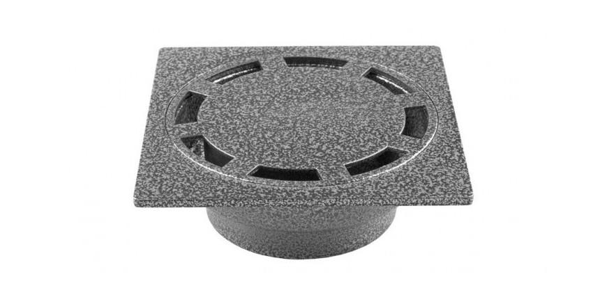 Подови алуминиеви сифони и капачки Ø32мм, Ø50мм, Ø110мм с прахово боядисване