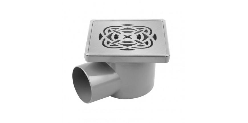 Луксозни сифони PVC с клапа от PVC и неръждаема стомана