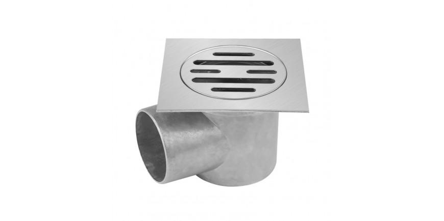 Луксозни сифони алуминий, PVC с клапа и капачки от PVC и неръждаема стомана